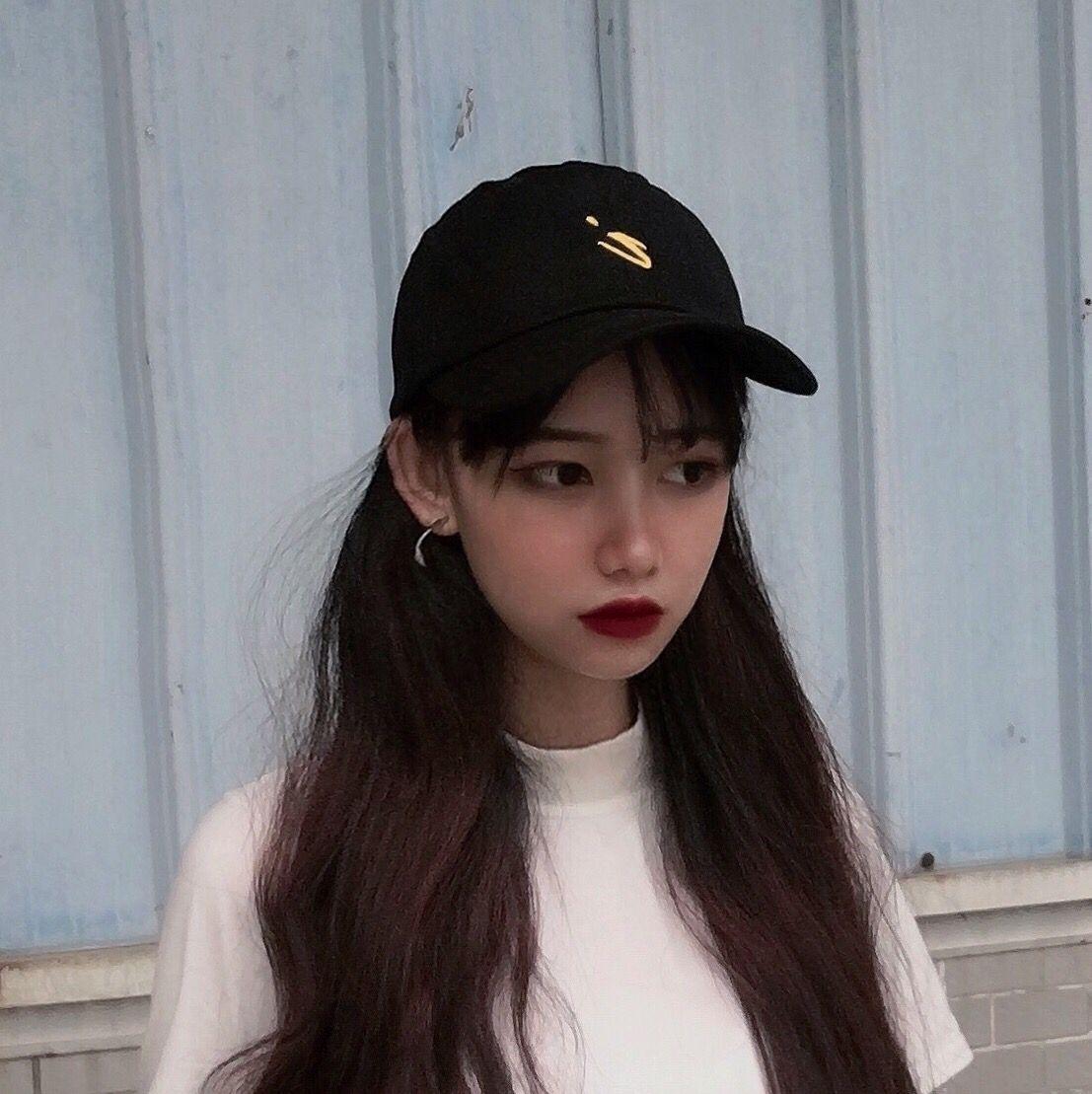 9.90元包邮帽子女鸭舌帽ins韩版潮流百搭网红款黑色棒球帽街头可爱学生遮阳