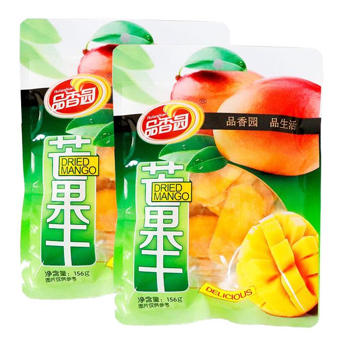 海南特产品香园芒果干蜜饯果脯水果干零食芒果片休闲食品三亚特产