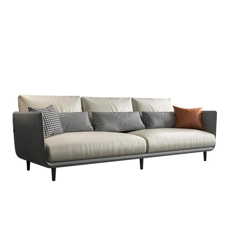 曲巢意式轻奢北欧简约小户型布沙发好用吗