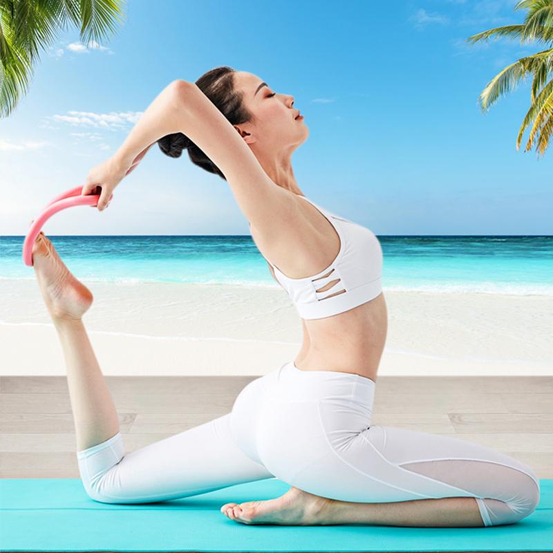 米乐儿瑜伽环开肩瑜珈圈练美背普拉提拉伸展瘦肩膀瘦腿健身器材