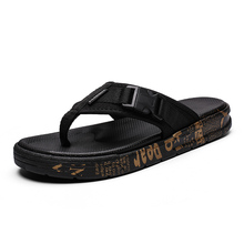 Flip-flop Men's Tide 2019 New Summer Men's Individual Outdoor Wear Beach Korean Fashion Sandals and Slippers