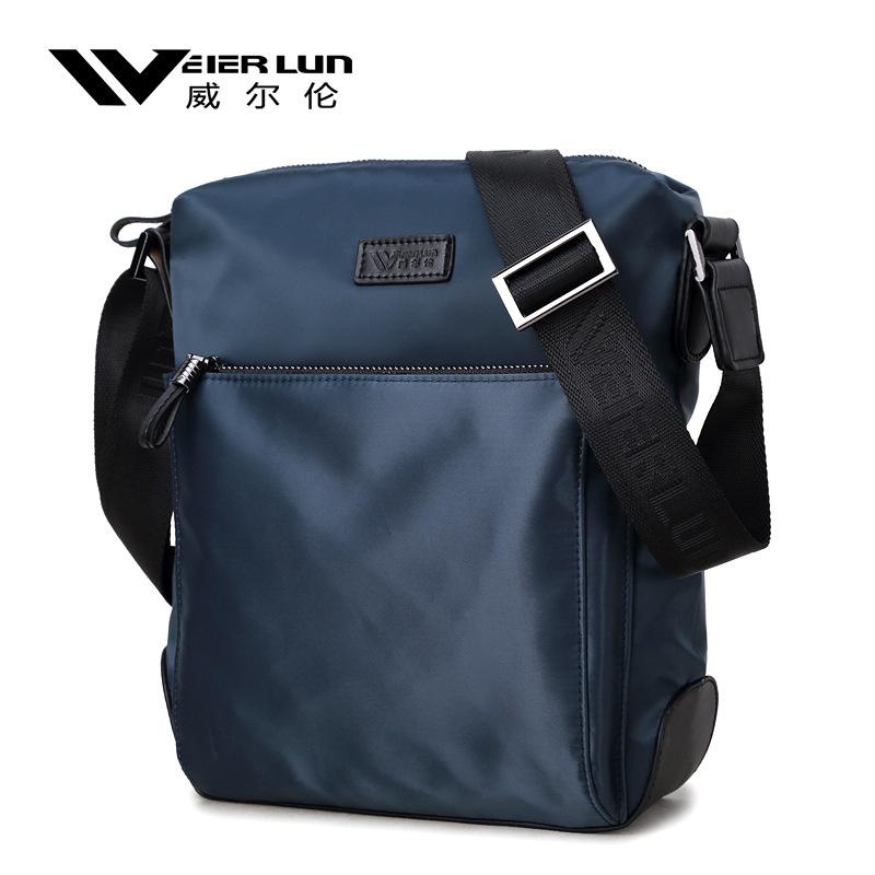 Willen messenger bag mens bag single shoulder bag waterproof mens bag casual Nylon Oxford canvas small bag backpack
