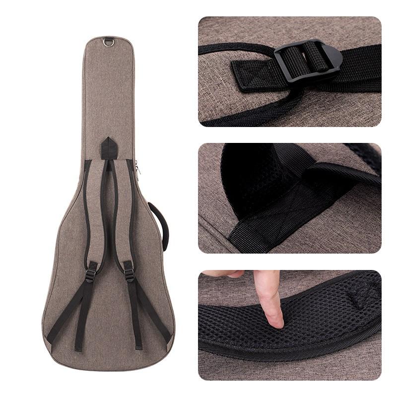 jinchuan电吉他包41寸40寸加厚双肩民谣吉他琴包个性吉他背包套袋