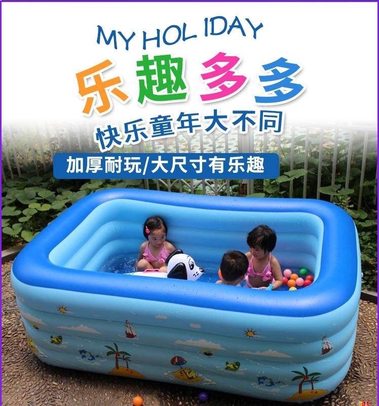 1-4岁3婴儿游泳池2男孩5女孩充气浴盆宝宝戏水儿童洗澡桶小孩玩具11-06新券