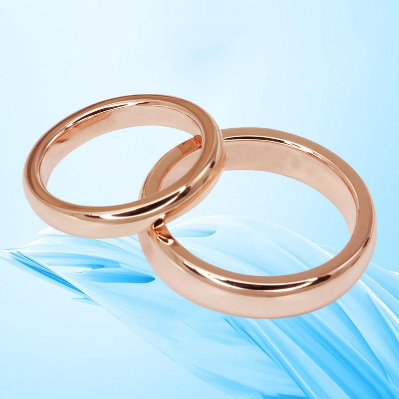 Zhubao Chuanqing 18K gold ring for men and women