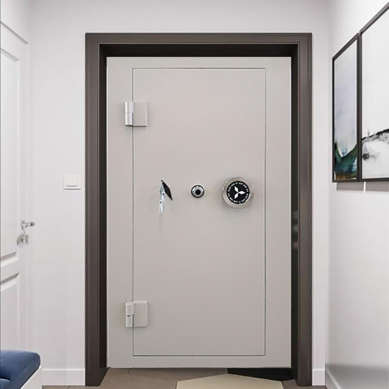 ステンレス金庫門金庫房家庭密室ドアインテリジェントガン銀行博物館のパスワードは盗難防止扉をロックします。