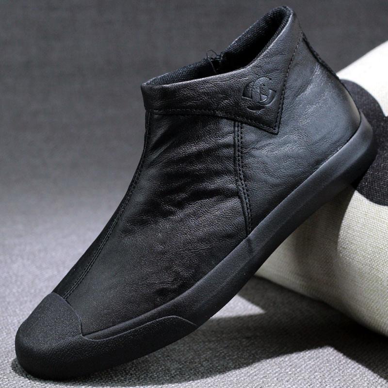 皮鞋男休闲鞋