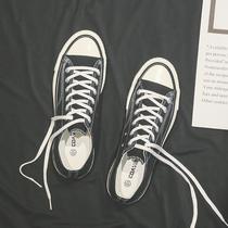 帆布鞋男韩版鞋子男高帮布鞋低帮板鞋潮鞋春季情侣款学生小白鞋男