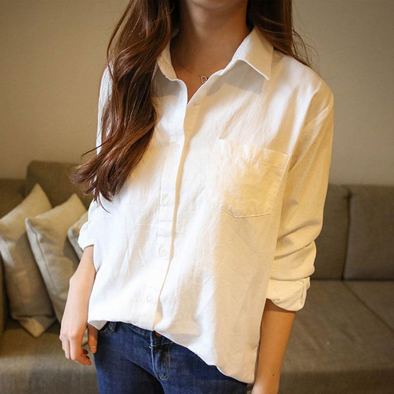 白色衬衫女夏2021新款春装宽松韩版衬衣上衣中长款长袖设计感小众