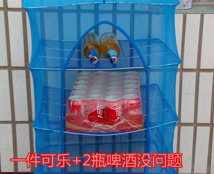 晾鱼干晒网防苍蝇家用嗮晒白薯干网24.85元包邮