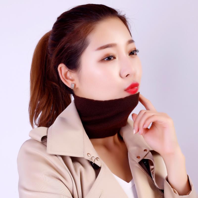 Autumn and winter cashmere collar collar collar collar collar collar net red headdress