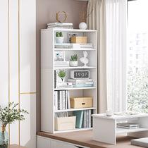 简约书架落地飘窗柜书柜收纳柜储物柜组合阳台简易家用多层置物架