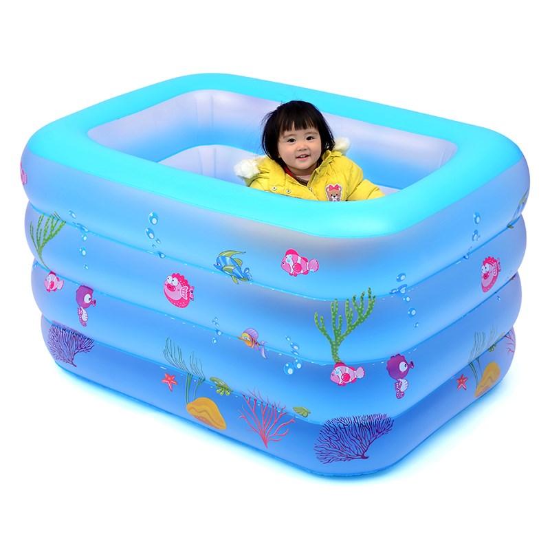 有赠品家用婴儿游泳池新生充气超大号幼儿童游泳加厚室内小孩宝宝洗澡桶