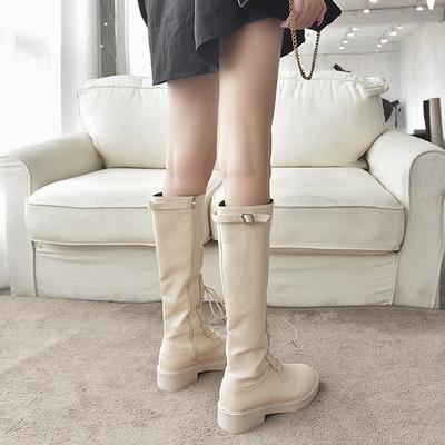 暇步士麂皮高筒靴买过的朋友谈谈