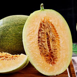 海南哈密瓜网纹瓜西州蜜新鲜水果整箱包邮当季5-8斤应季批发新疆