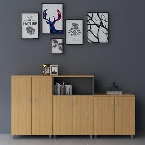 办公新款家具木质文件柜板式柜类储物柜档案资料柜子 可定制移动