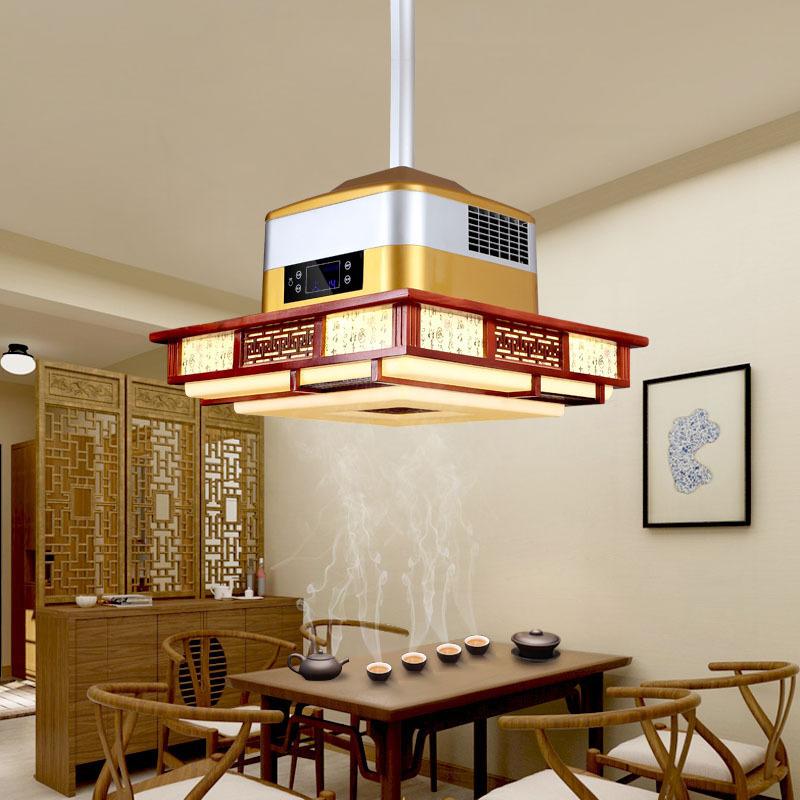 [金蓝地家居专营店吊灯]棋牌室吊灯净化器空气餐厅书房led吸月销量1件仅售1598.5元