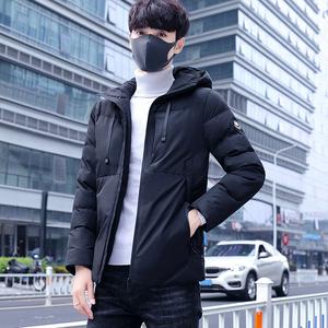 棉服男款韩版潮流新款连帽2018冬季新棉袄男青年冬装棉衣外套