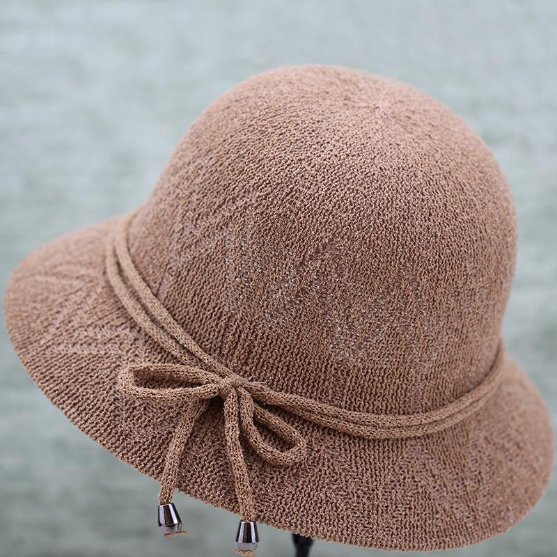 老年人夏天透气奶奶中老年遮阳帽