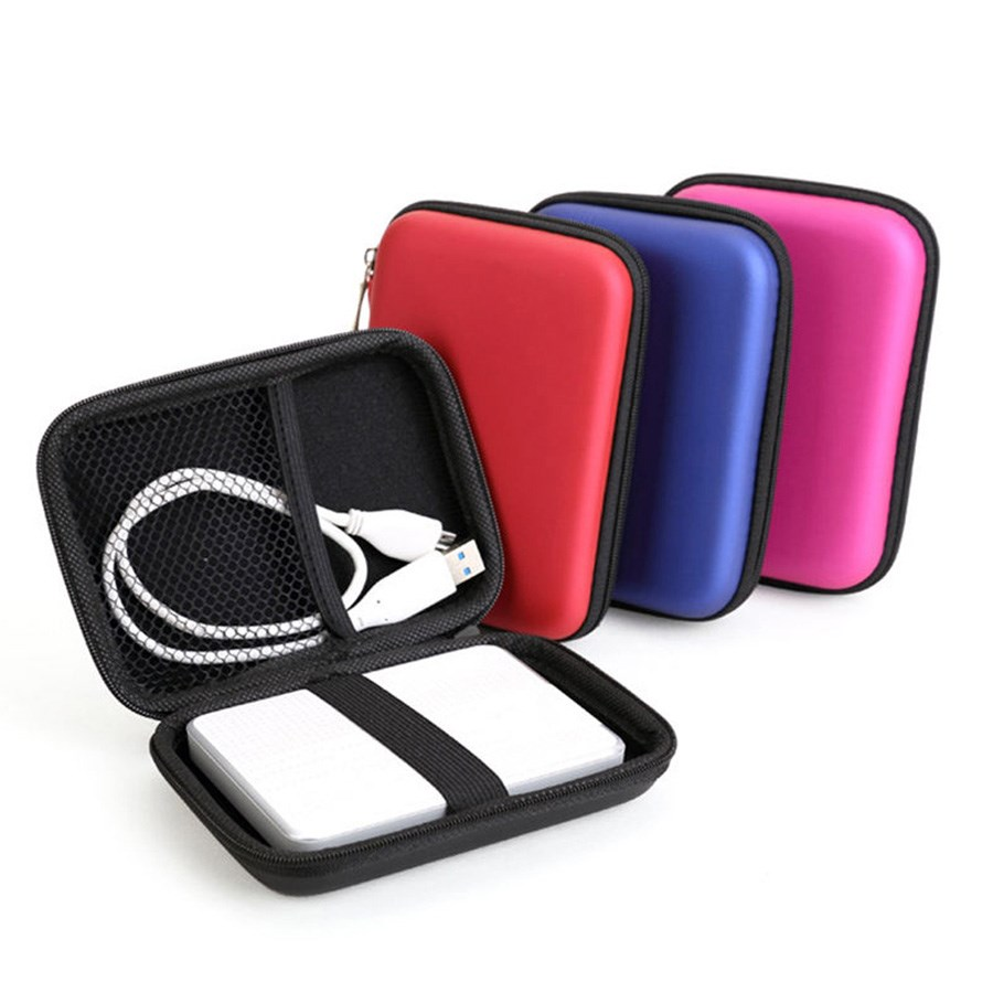 Portable 2.5 External USB Hard Drive Disk Carry Case Cover