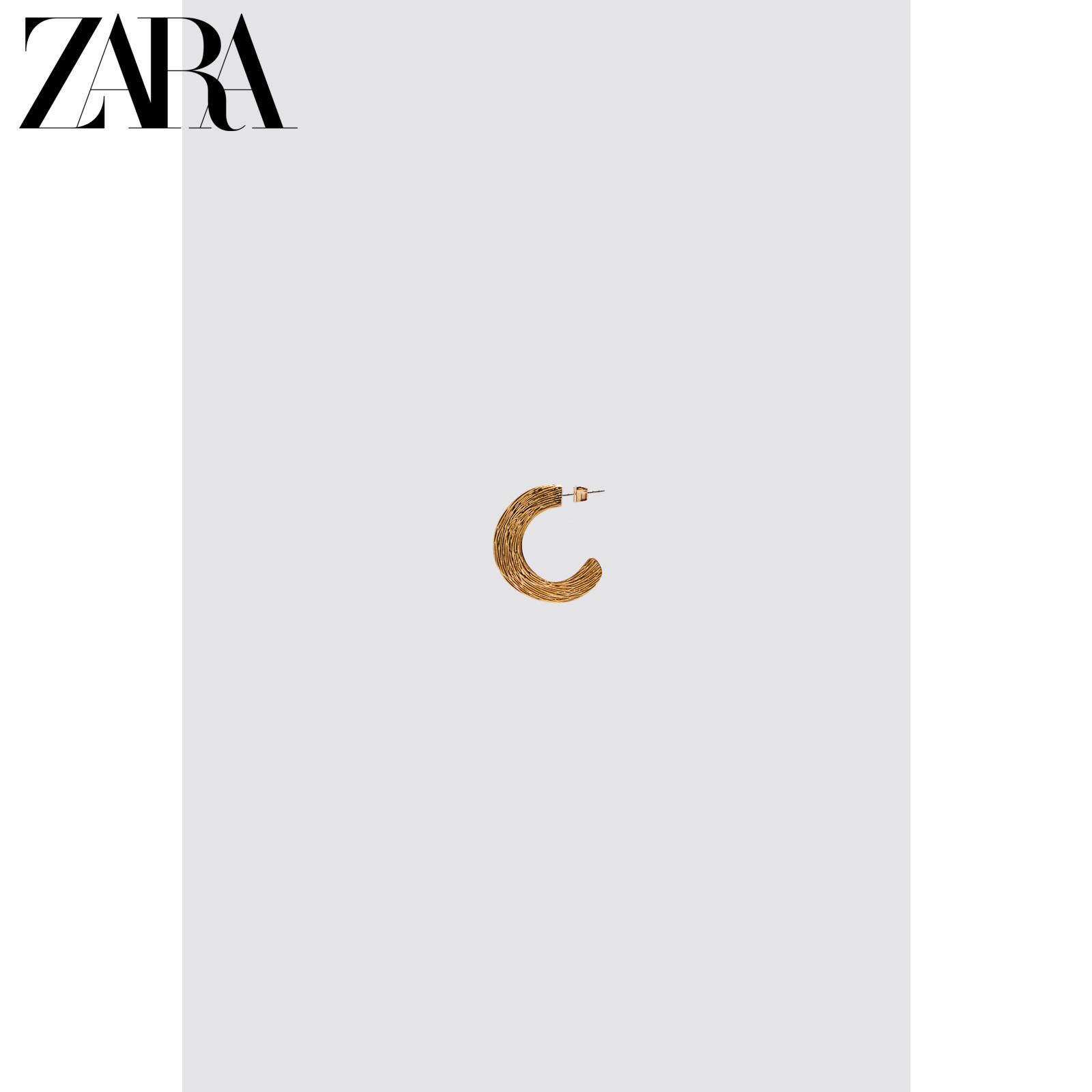 ZARA 新款 女装 质感耳环 04736051303