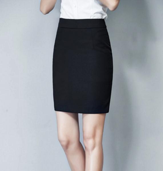 夏季春秋夏职业女西装工装一步裙黑半身群包臀高腰商务工作