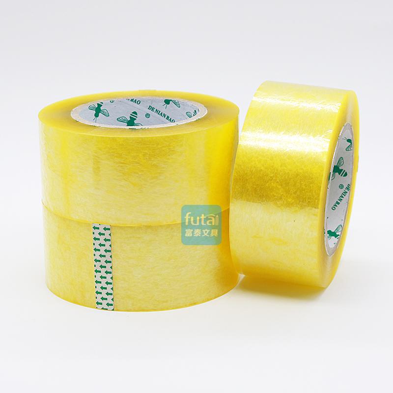 Мораль палка форт печать коробка лента пчела 5.5cm*200y прозрачный пластиковый группа тюк лента превышать палка непрерывный печать коробка клей