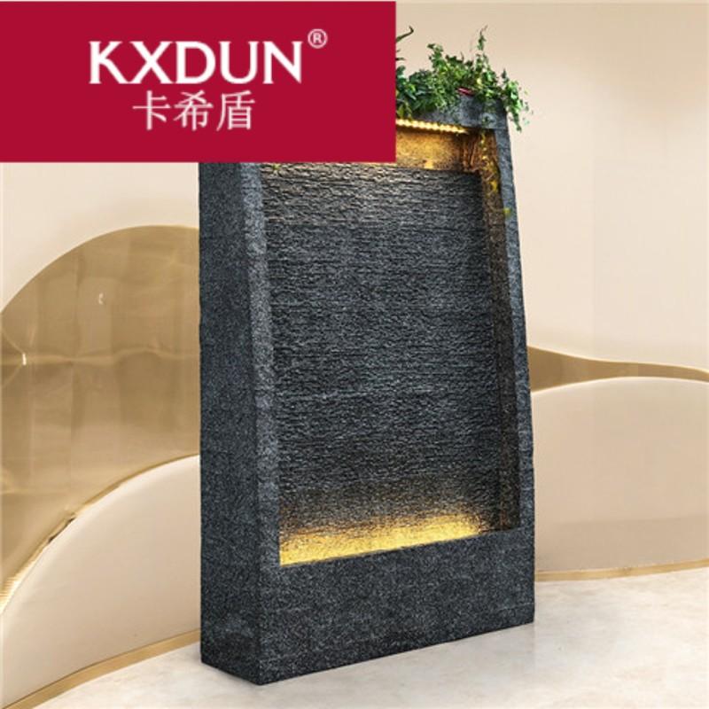 KXDUN/卡希盾流水喷泉鱼池智能家居水景会所餐厅别墅阳台jy0416