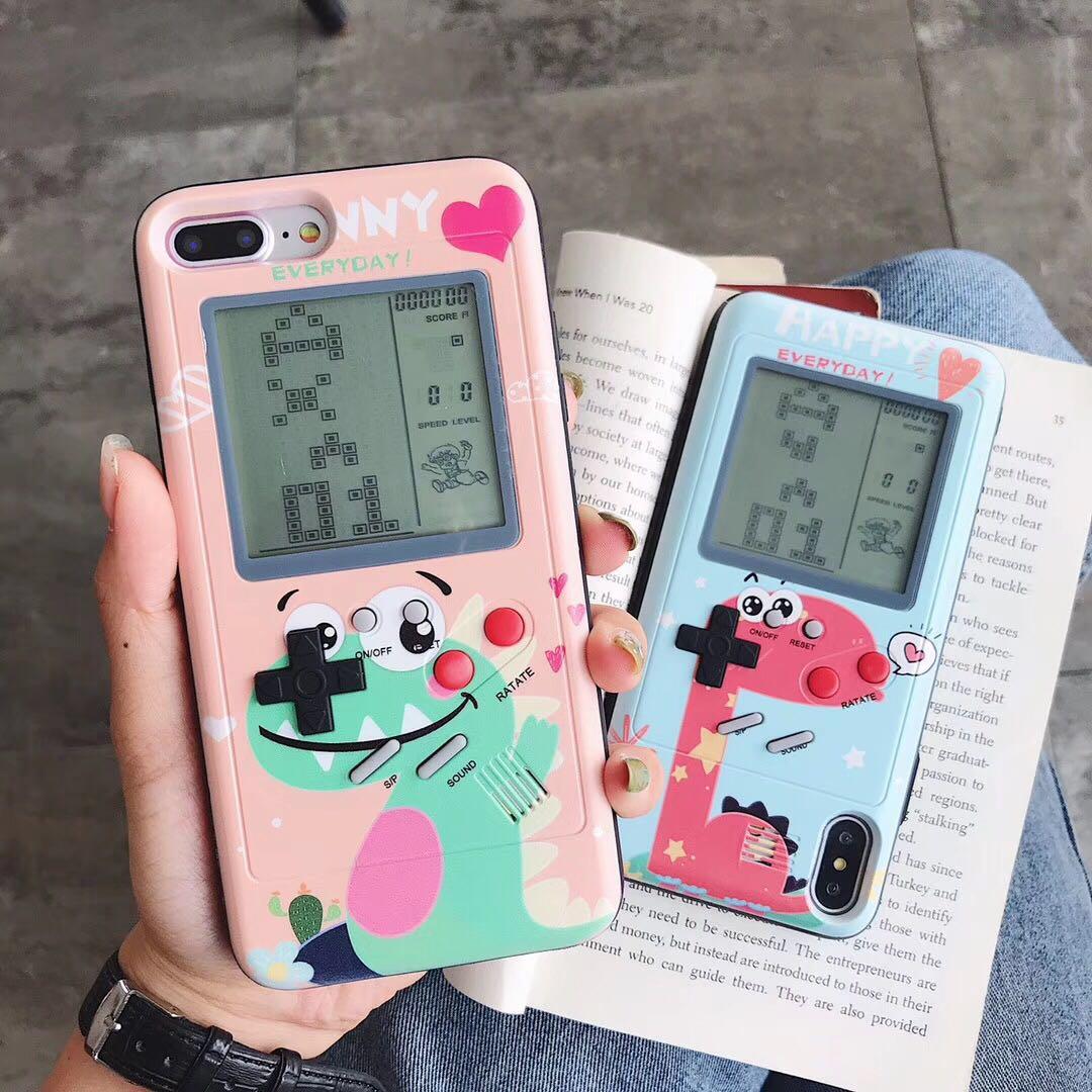 券后26.00元俄罗斯方块卡通游戏机苹果手机壳plus女款iphone减压6s怀旧7复古8p解压