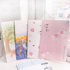 韓國文具16k日記本可愛軟面抄B5大號學生記事本筆記本車線本子
