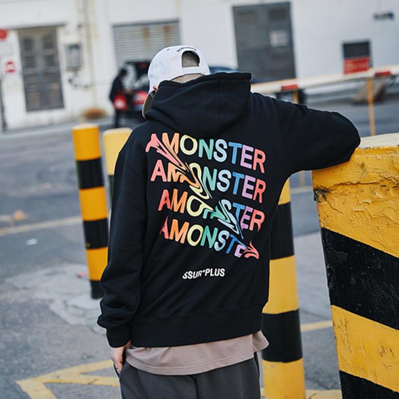 amonster官方店铺ssur plus男卫衣