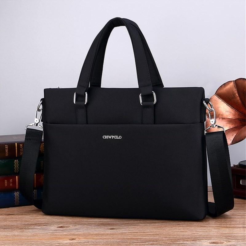 Paul mens bag business handbag Oxford spinning briefcase Korean mens Bag Canvas leisure handbag Backpack