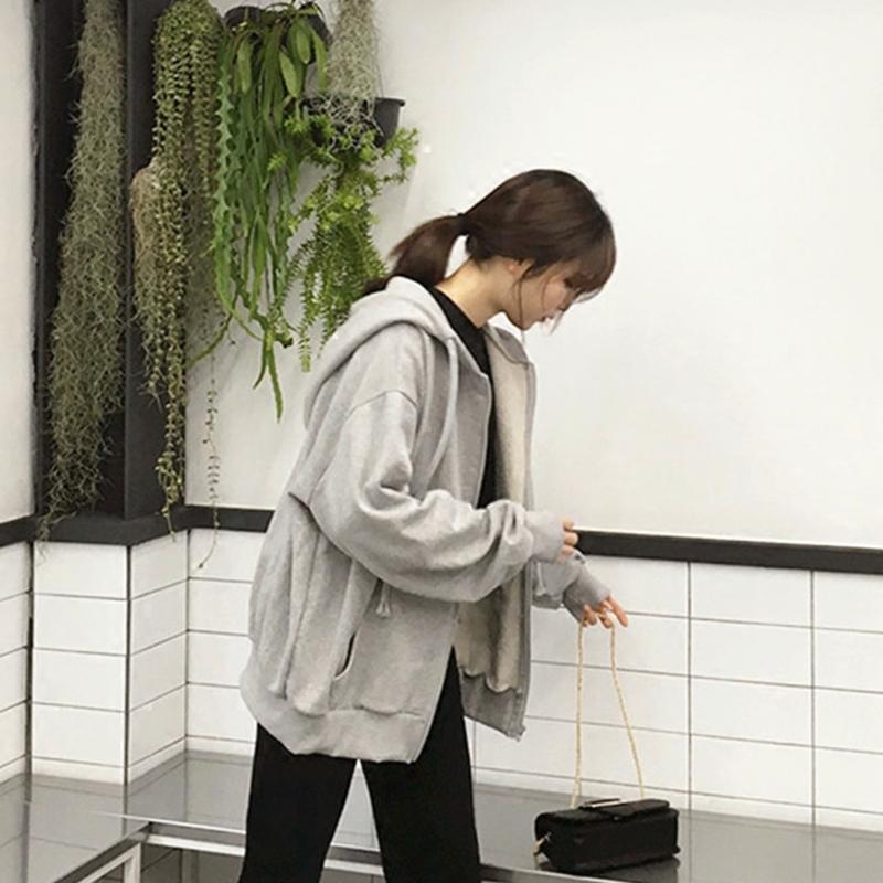 waitmore 2021早秋薄款韩版潮风卫衣质量好不好