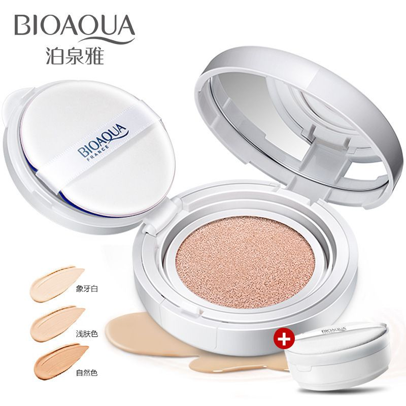 Sunscreen, water cushion, BB, cream, nude make-up, concealer, whitening, CC foundation, moisturizing, lasting and waterproof.
