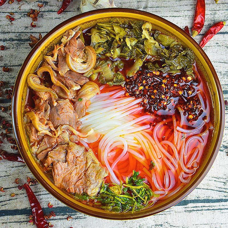 3袋装 贵州特产小吃六盘水城羊肉粉包邮网红方便速食非遵义米粉丝