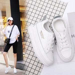 内增高8cm运动鞋2019新款女秋季女鞋小白鞋女小码鞋子女学生百搭
