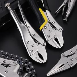多功能大力钳万能万用重型工业级加力手钳子工具快速封口固定夹钳