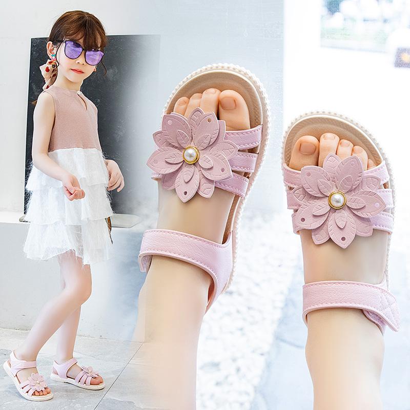 女童凉鞋2021夏季新款儿童时尚软底公主鞋小女孩宝宝鞋子网红潮款