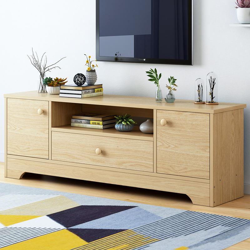 北欧风电视柜简约现代卧室电视柜欧式小户型客厅电视柜地柜经济型,可领取3元天猫优惠券