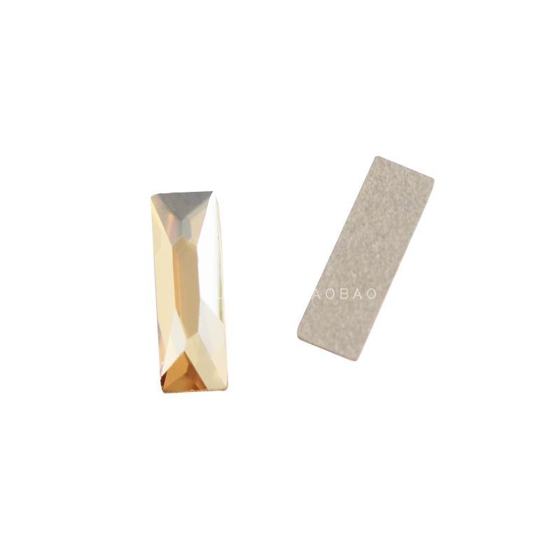 正品施华洛奥钻长条异形钻2555美甲装饰DIY水晶贴钻GSHA金色魅影