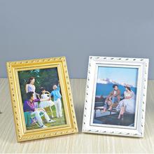 實木相框7寸6 16a4兒童照片擺臺掛墻營業執照 歐式