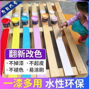 桶装衣柜白漆手涂漆桌子室内外铁门柜子装修钢琴漆木器油漆补漆