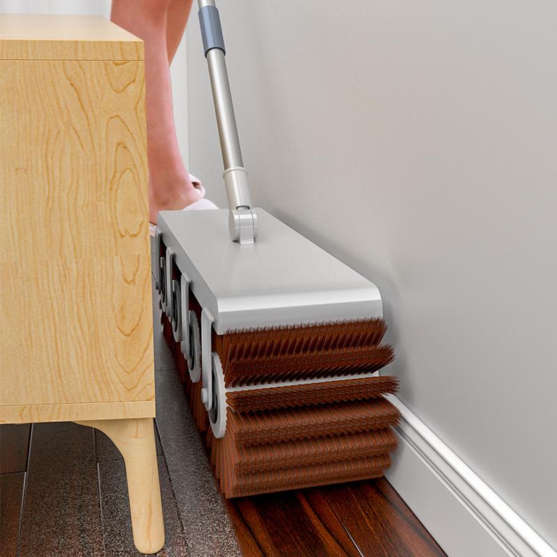扫把家用簸箕套装组合扫帚魔术扫地笤帚扫头发神器不粘毛发刮水器