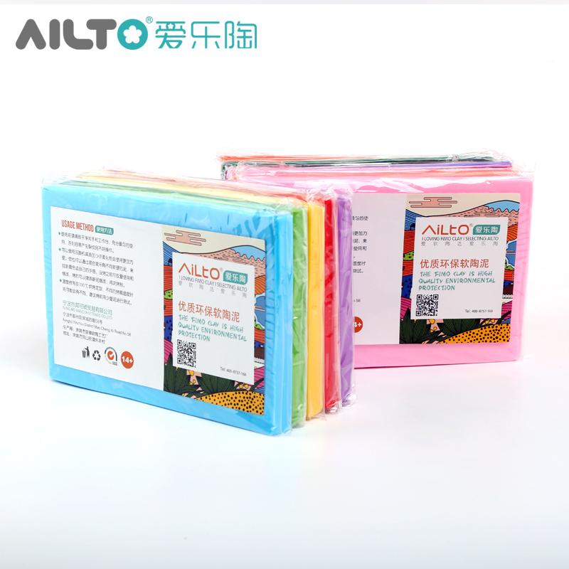 Подлинный AILTO любовь музыка керамика марка высокого качества защита окружающей среды модель форма полимерная глина грязь цвет керамика отдельный кадр 250 грамм половина веса наряд