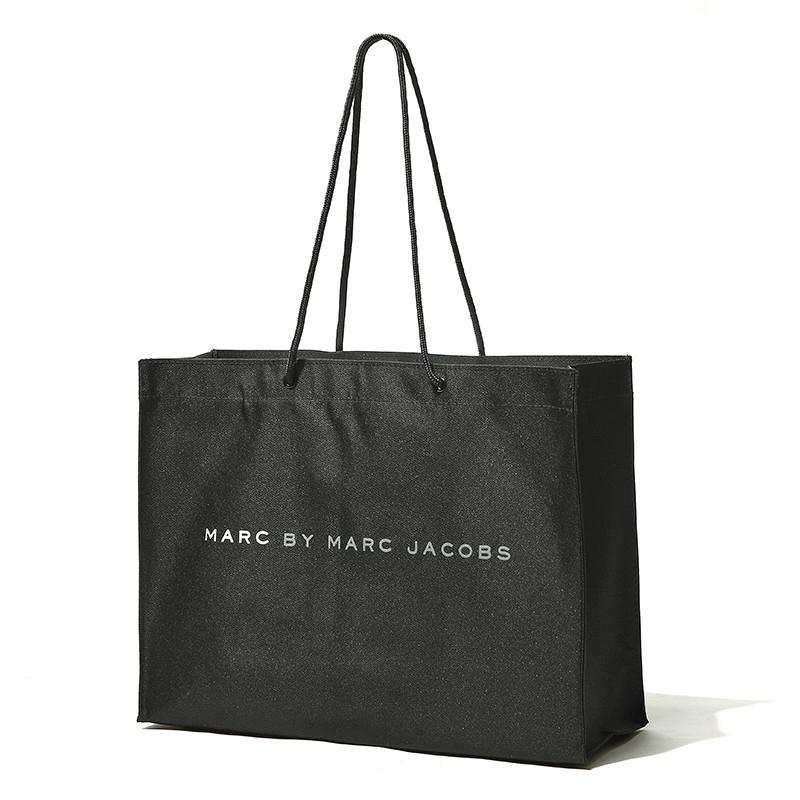 T潮流門市部日本雜誌附錄包 純黑色單肩女大號環保袋購物袋