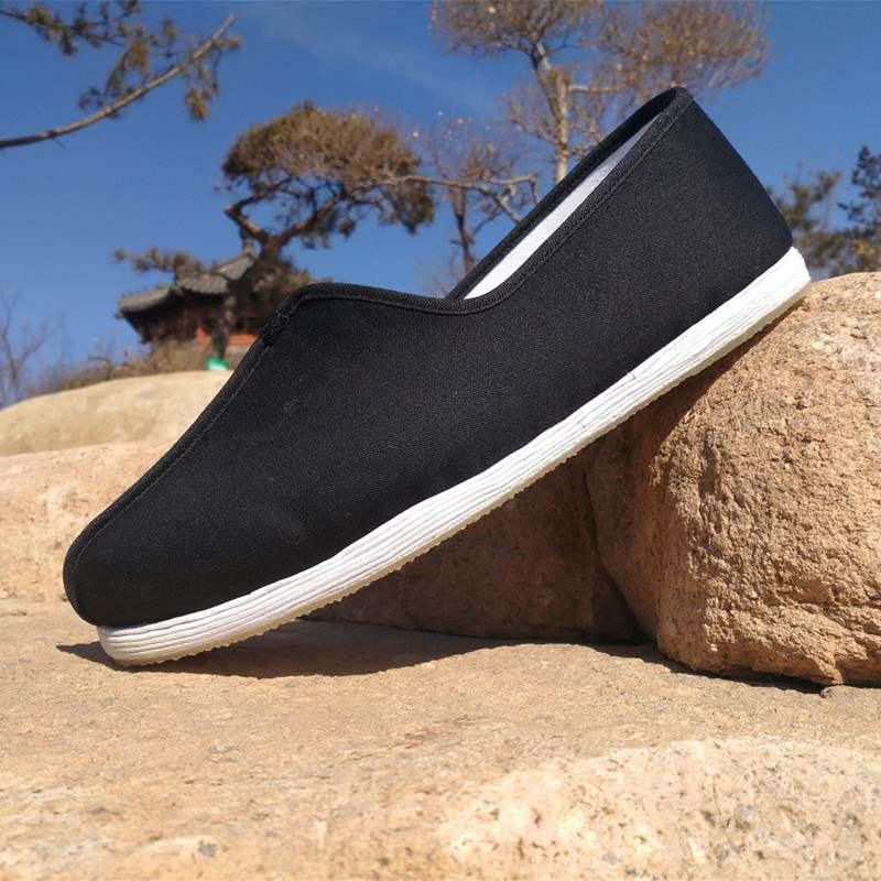 Old Beijing cloth shoes handmade thousand layer bottom Chinese national style retro monk Buddhist shoes monk mens and womens monk shoes