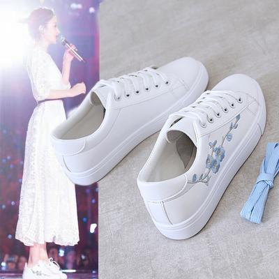 小白鞋2021春季新款百搭平底女鞋