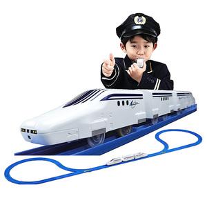 多美卡男孩儿童玩具火车口哨电动遥控轨道套装火车玩具819356