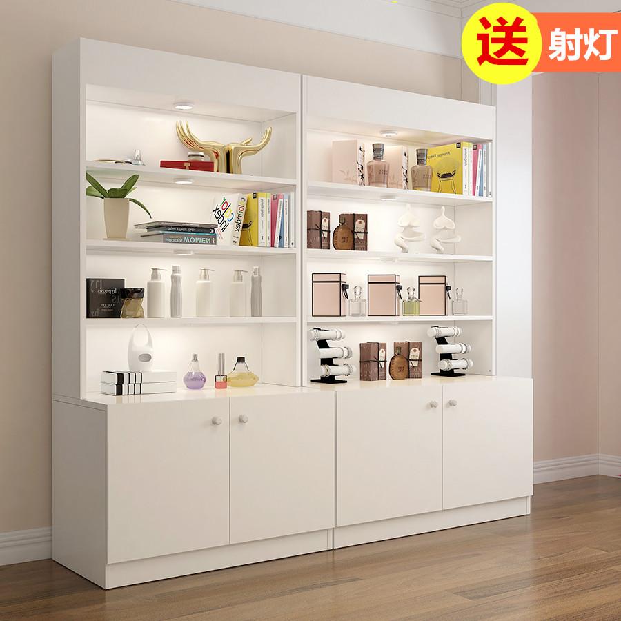 展示柜化妆品展示柜隔断货柜货架展示架药店展柜美容院产品展示柜