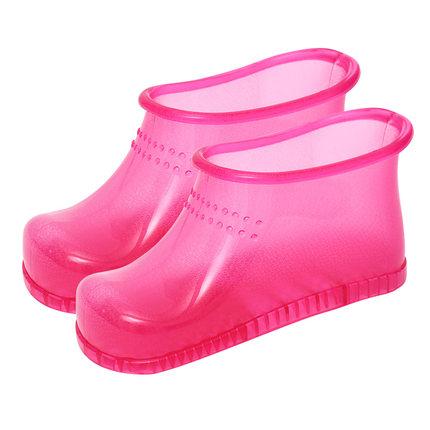 磁石泡脚鞋女泡脚桶神器按摩穴位鞋